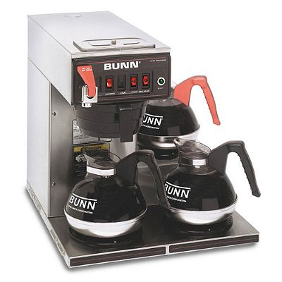 Bunn 3 Burner Automatic Coffee Brewer