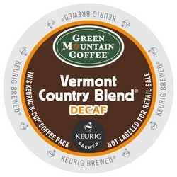 Green Mountain Decaf Vermont Country Blend K-Cup24ct