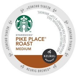 Starbucks Pike Roast K-Cup 24ct