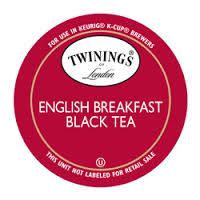 Twinings English Breakfast Tea 25ct K-Cup