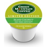 Green Mountain Island Coconut K-Cup 24ct