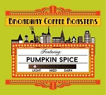 Broadway Coffee Roasters Pumpkin Spice Pods 18ct ***Seasonal***