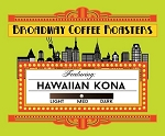 Broadway Coffee Roasters Hawaiian Kona 18ct