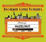 Broadway Coffee Roasters Hazelnut Pods 18ct