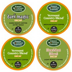 Green Mountain Decaf Variety K-Cup 22ct
