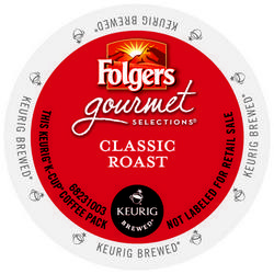 Folgers Gourmet Classic Roast K-Cup 24ct