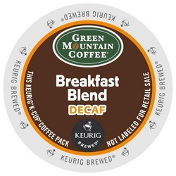 Green Mountain Decaf Breakfast Blend K-Cup 24ct