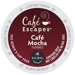 Cafe Escapes Cafe Mocha K-Cup 24ct