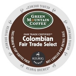 Green Mountain Colombian Fair Trade K-Cup 24ct