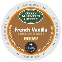 Green Mountain Decaf French Vanilla K-Cup 24ct