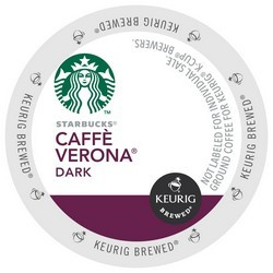 Starbucks Verona K-Cup CASE 96ct