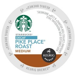 Starbucks Decaf Pike Place K-Cup 24ct