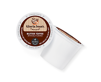 Gloria Jean's Butter Toffee K-Cup 24ct