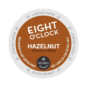 Eight O'Clock Hazelnut K-Cup 24ct