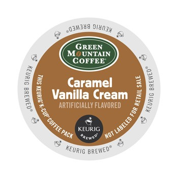 Green Mountain Caramel Vanilla Cream K-Cup 24ct