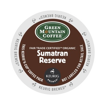 Green Mountain Sumatran Reserve K-Cup 24ct