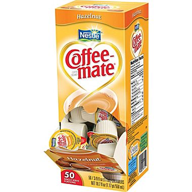 Nestle CoffeeMate Hazelnut 50ct