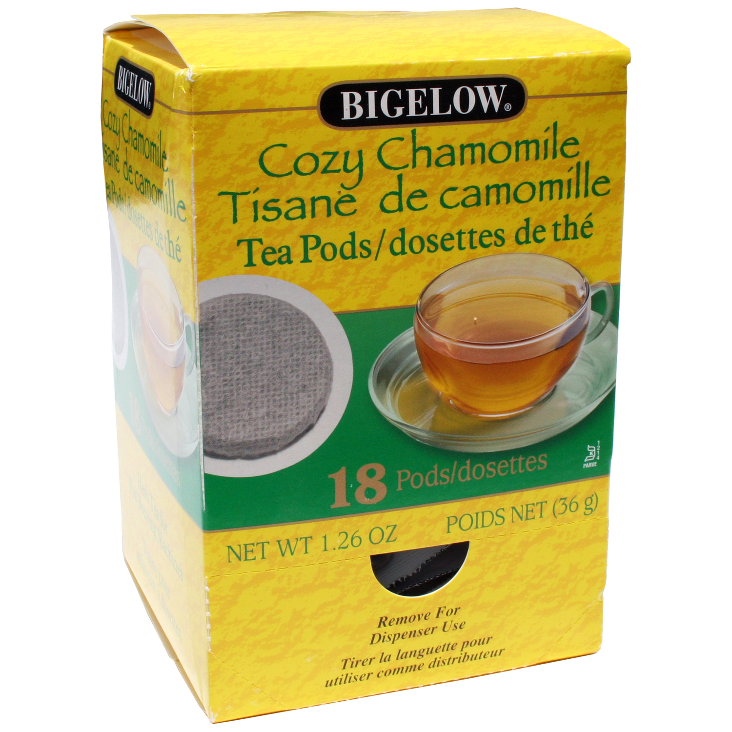 Bigelow Cozy Chamomile Tea Pods 18ct