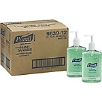 Purell Instant Hand Sanitizer with Aloe, 12oz. Pump Dispenser