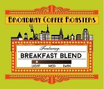 Broadway Coffee Roasters Breakfast Blend Pods 18ct