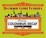 Broadway Coffee Roasters Decaf Colombian Pods 18ct