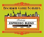 Broadway Coffee Roasters Espresso Blend Pods 18ct