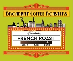 Broadway Coffee Roasters French Roast Pods 18ct