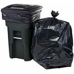 Trash Bag 55/60 Gallon Black Heavy Weight 100ct