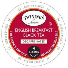 Twinings Decaf English Breakfast 25ct K-Cup