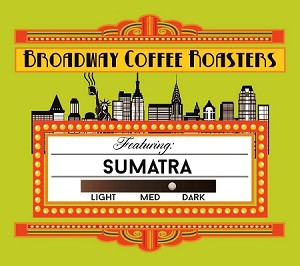 Broadway Coffee Roasters Sumatra Pods 18ct